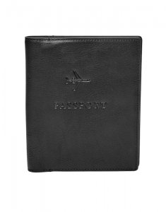 Suporturi de pasaport Fossil Leather RFID Passport Case MLG0358001