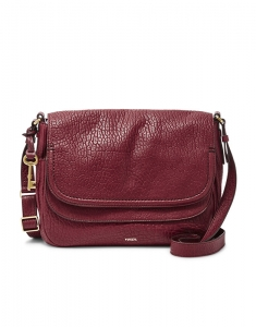 Genti Fossil Peyton Large Double Flap Crossbody ZB6921609