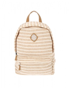 Ghiozdane Claire's Neutral Striped Backpack 54645