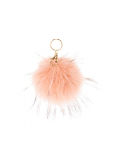 Brelocuri Claire's Pink Blush Pom Key Ring 96904