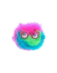 Brelocuri Claire's Fluffy Rainbow Monster Key Ring 99472