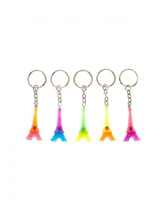 Brelocuri Claire's Eiffel Tower Best Friends Key Rings 12749