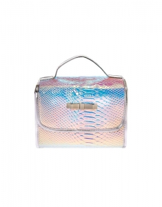 Genti cosmetice Claire's Holographic Roll Travel Makeup Bag 74177