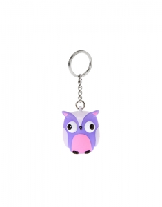 Brelocuri Claire's Purple Eye-Popping Owl Keychain 48563