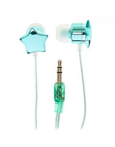 Accesorii Tech Claire's Turquoise Star Earbuds 31661