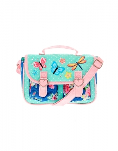 Genti Claire's Kids Pastel Butterfly Messenger Bag 96961