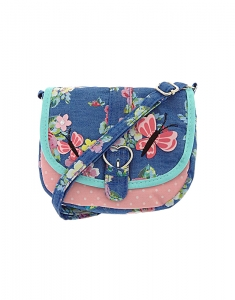 Genti Claire's Kids Garden Party Fabric Crossbody Bag 96991