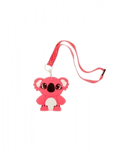 Brelocuri Claire's Kylie the Koala Silicone ID Holder & Lanyard 96370