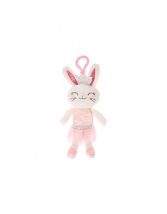 Brelocuri Claire's Kids Claire the Bunny Soft Keyring Clip 19393