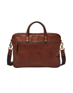 Genti Fossil Haskell Single Zip Briefcase MBG9343222