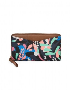 Portofele Fossil Caroline RFID Zip Around Wallet SL7594979