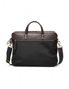 Genti Fossil Haskell Double Zip Briefcase MBG9391001