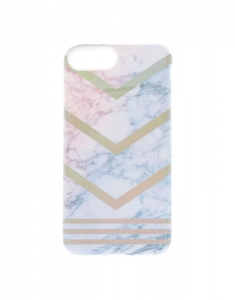 Accesorii Tech Claire's Watercolour Geometric Phone Case 59116