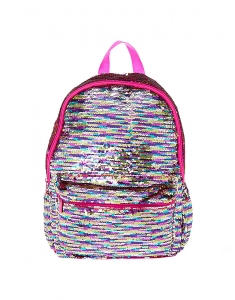 Ghiozdane Claire's Reversible Sequin Rainbow Backpack 23615