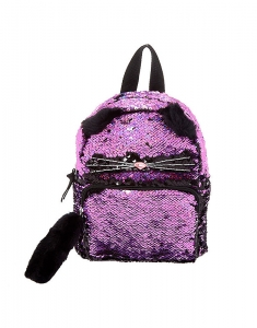 Ghiozdane Claire's Reversible Sequin Cat Mini Backpack 17486