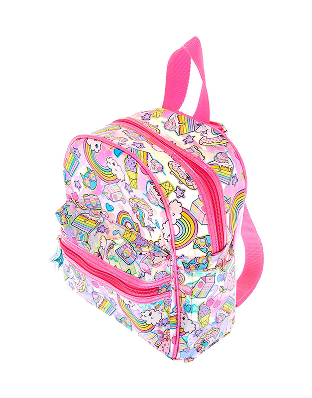 Claire's Rainbow Unicorn Icon Backpack 30685