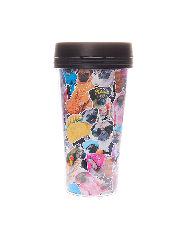 Claire's Doug The Pug® Plastic Drinks Cup 4561
