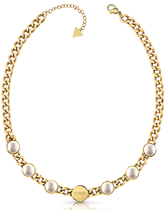 Colier Guess Pearls UBN78042