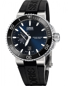 Ceas de mana Oris Diving Aquis Small Second, Date 74376734135-0742634EB