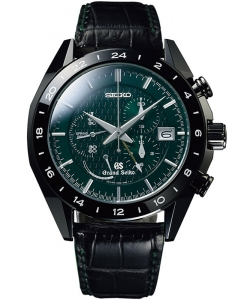 Ceas de mana Grand Seiko Black Ceramic Limited Edition 600 buc. SBGC017