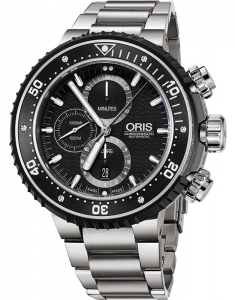 Ceas de mana Oris Diving ProDiver Chronograph 77477277154-Set