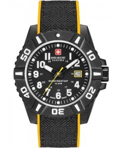 Swiss Military Black Carbon 06-4309.17.007.79