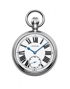 Ceas de mana Longines Heritage The Longines RailRoad Pocket Watch L7.039.4.21.2