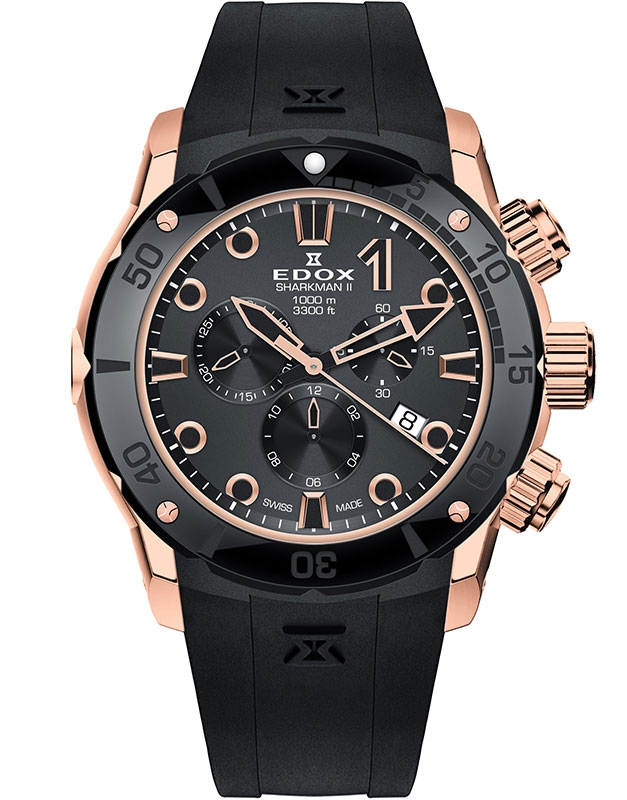 Edox CO-1 Sharkman II Limited Edition 10234 357RN NIR