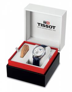 Tissot Couturier Small Second Romania 1918-2018 Limited Edition T035.428.16.031.01