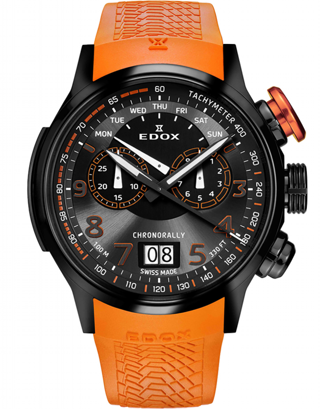 Edox Chronorally The Driver's Instrument 38001 TINNO3 NO3