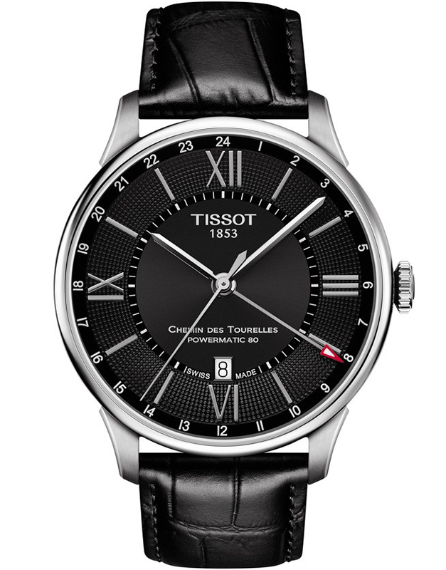 Tissot Chemin des Tourelles Powermatic 80 GMT T099.429.16.058.00