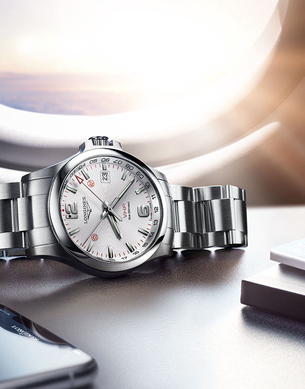 Longines Conquest V.H.P. GMT L3.728.4.76.6