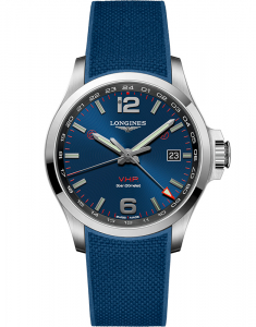 Longines Conquest V.H.P. GMT L3.728.4.96.9