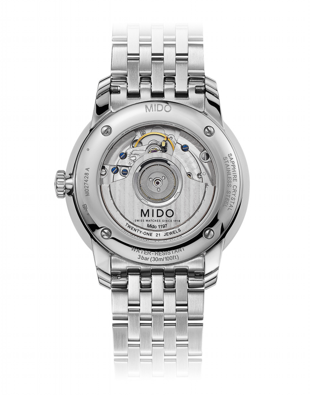 Mido Baroncelli Power Reserve M027.428.11.013.00