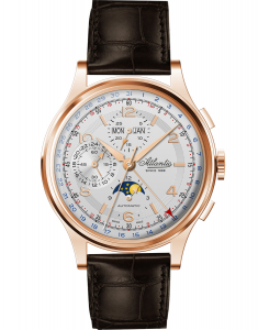 Atlantic Moonphase Automatic Chronograph 55851.44.25