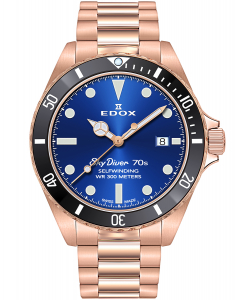 Edox SkyDiver Spirit of the 70s 80112 37RNM BUI