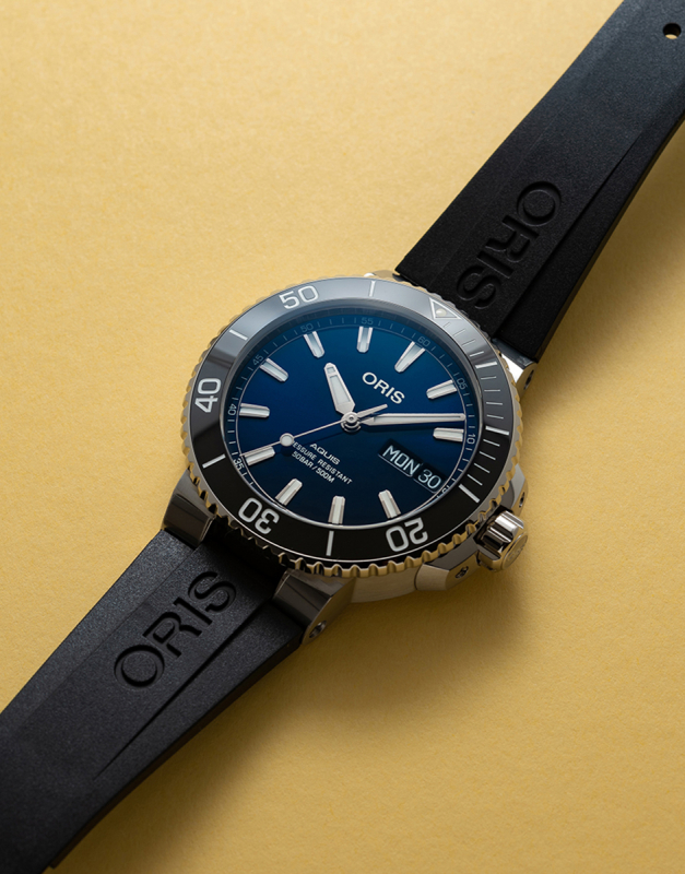 Oris Diving Aquis Big Day Date 75277334135-0742464EB