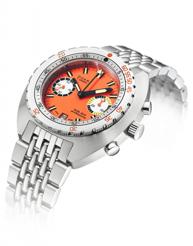 Doxa SUB 200 T.GRAPH Professional Limited Edition 805.10.351.10