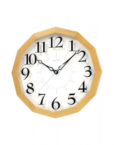 Ceasuri de perete Rhythm Wooden Wall Clocks CMG101NR07