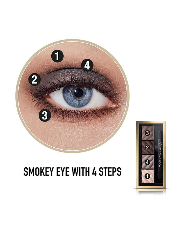 Paleta Farduri Smokey Eye Matte Drama Kit 8005610408064