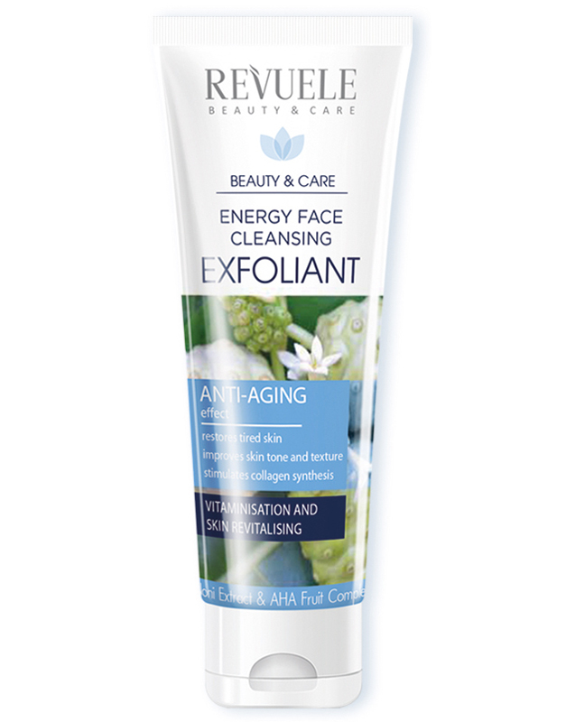 Revuele energy face cleansing exfoliant 80ml