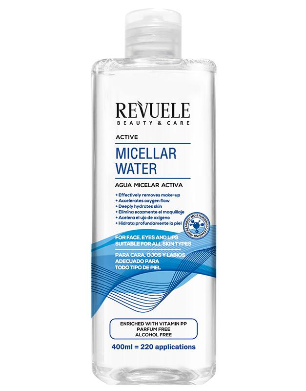 Revuele micellar water active 400ml