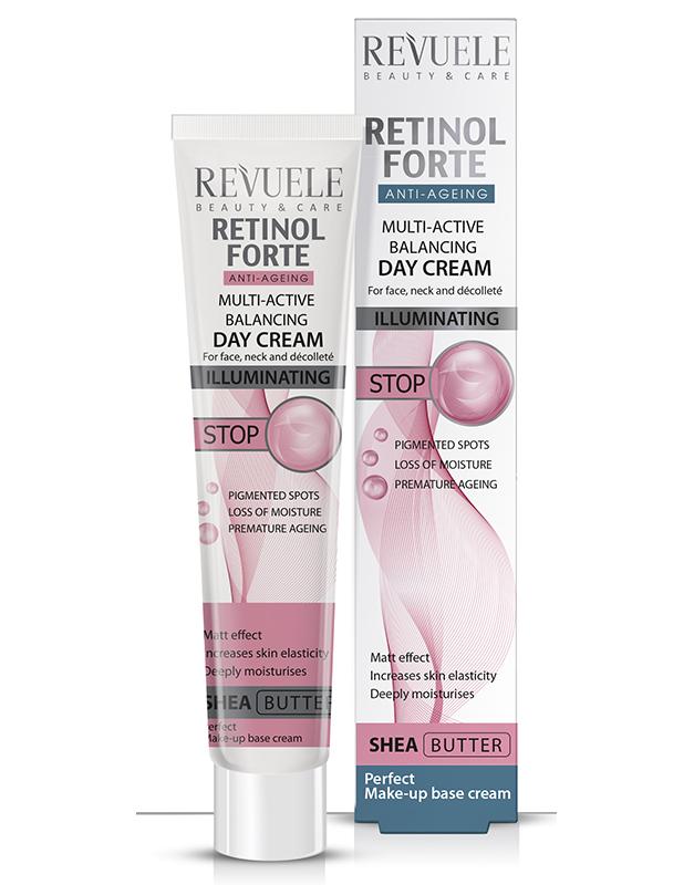 Revuele retinol forte multi-active balancing day cream 50ml