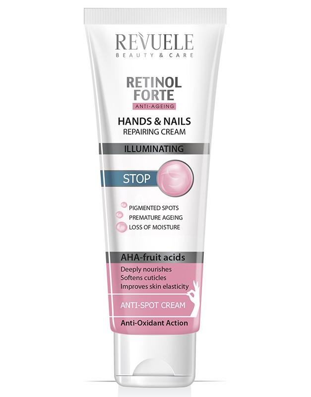 Revuele retinol forte hands&nails repairing cream 100ml